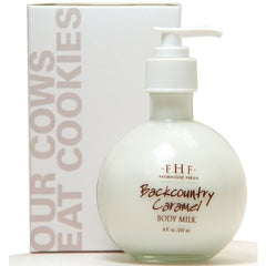 Backcountry Caramel Body Milk - Pump Top - 8 oz