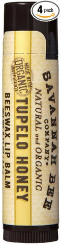Savannah Bee Tupelo Honey Beeswax Lip Balm - 0.15 oz