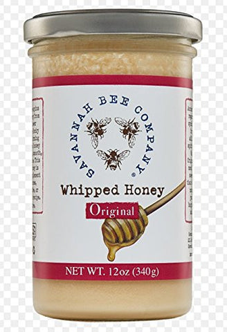 Savannah Bee Whipped Honey Original - 12 oz