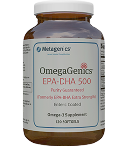 OmegaGenics™ EPA-DHA 500 Enteric Coated