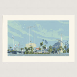 Dodger Stadium (Artist Proof)