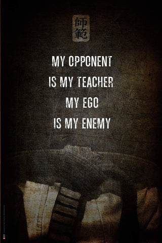 Ego - Martial Poster by Shihan Essence.
