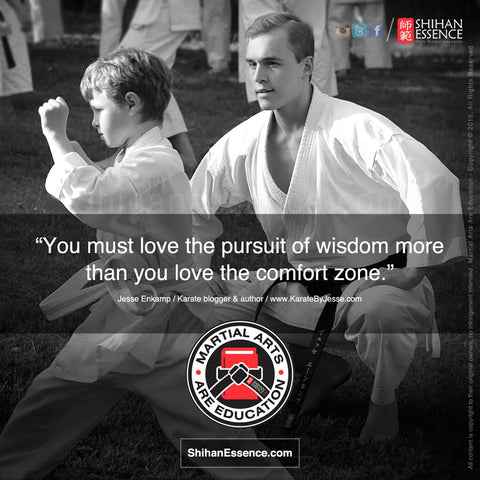 Martial Arts are Education