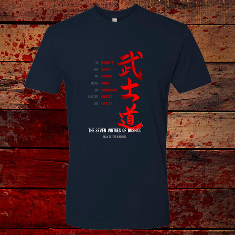 Bushido Seven Virtues T-Shirt