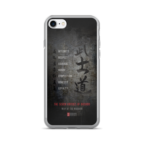 Bushido Seven Virtues iPhone 7/7 Plus Case Dark Side