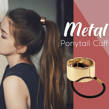 Load image into Gallery viewer, Metal Ponytail Cuff