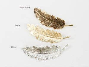 Feather Hair Hairpin / Bobby Pins