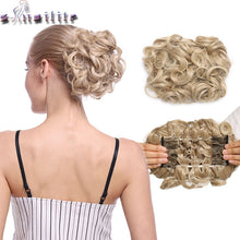 Load image into Gallery viewer, LARGE Comb Clip Hair Bun