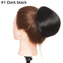 Load image into Gallery viewer, Hepburn Style drawstring hair bun