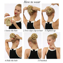 Load image into Gallery viewer, Drawstring hair bun