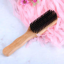 Load image into Gallery viewer, Natural Boar Bristle Hairbrush