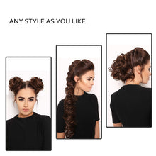 Load image into Gallery viewer, Messy Long Hair Bun Wrap