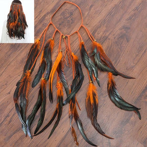 Feather Hair Band
