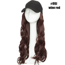 Load image into Gallery viewer, Baseball Cap  Hair Extensions