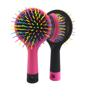 Rainbow - Mirror Salon Styling Brush