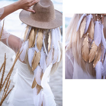 Load image into Gallery viewer, Feather Hair Band