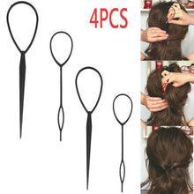 Load image into Gallery viewer, 4pcs Topsy Tail Ponytail Creator