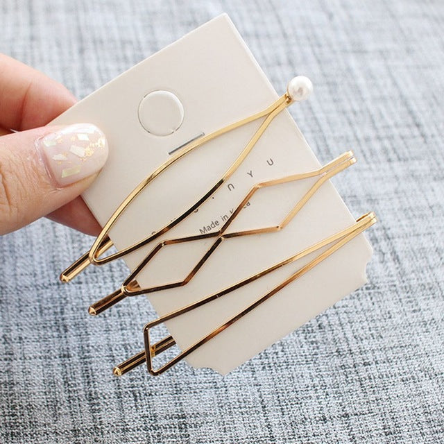 3Pcs/Set Styling Hair Clip Bobby Pin