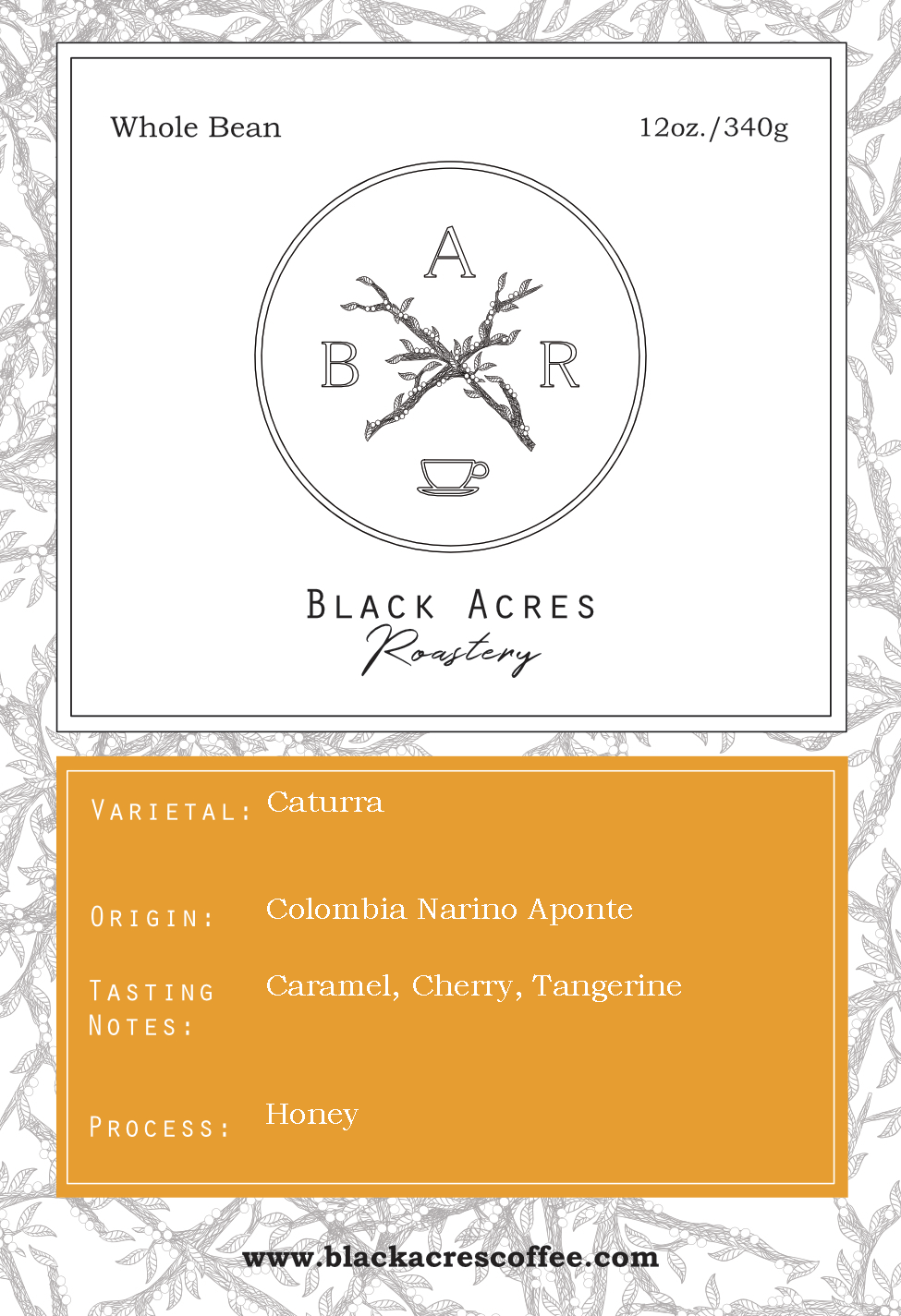 Colombia Nariño Aponte (Subscription)