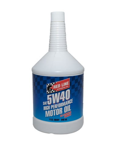 Red Line 5W40 Oil Quart - DRS Motorsport