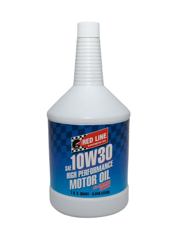 Red Line 10W30 Motor Oil Quart - DRS Motorsport
