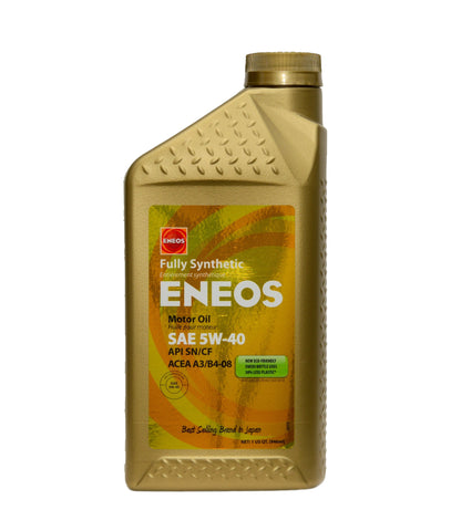 Eneos 5W40 Motor Oil Quart - DRS Motorsport
