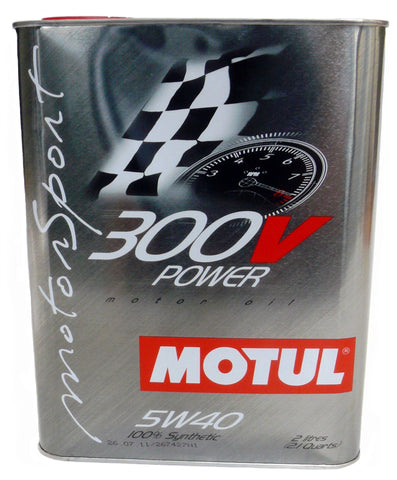 Motul 300V Synthetic Motor Oil - 2 Liters 5W40 - DRS Motorsport