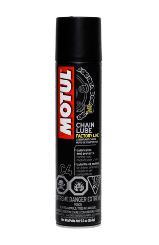 Motul Chain Lube Factory Line 9.3 oz - DRS Motorsport