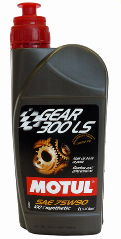 Motul Gear 300 LS 75W90 - 1 Liter Synthetic - DRS Motorsport