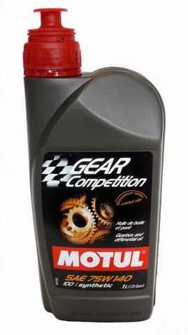 Motul Gear Competition Gearbox & LSD Oil - 1 Liter 75W140 - DRS Motorsport