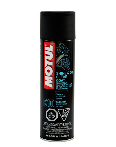 Motul E10 Shine & Go Clear Coat - 13oz - DRS Motorsport