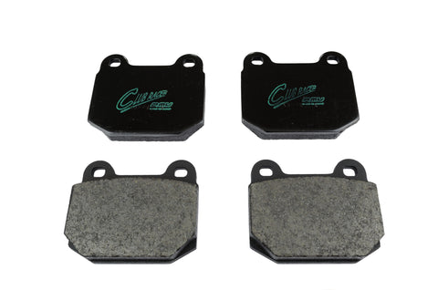 Project Mu Club Racer Front Brake Pads for Elise / Exige (S) / 211 std. - DRS Motorsport