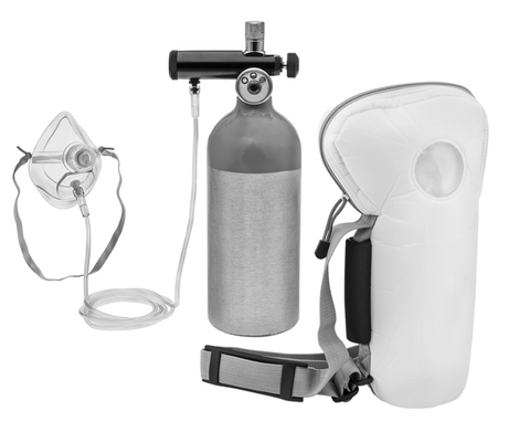 Refillable Emergency Oxygen Cylinder with Mask - DRS Motorsport