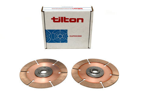 Tilton 7.25 Clutch Discs Twin Pack - Dynamic Racing Solutions