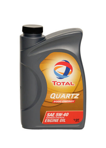 Total Quartz Energy 9000 5W-40 Oil 1qt - DRS Motorsport