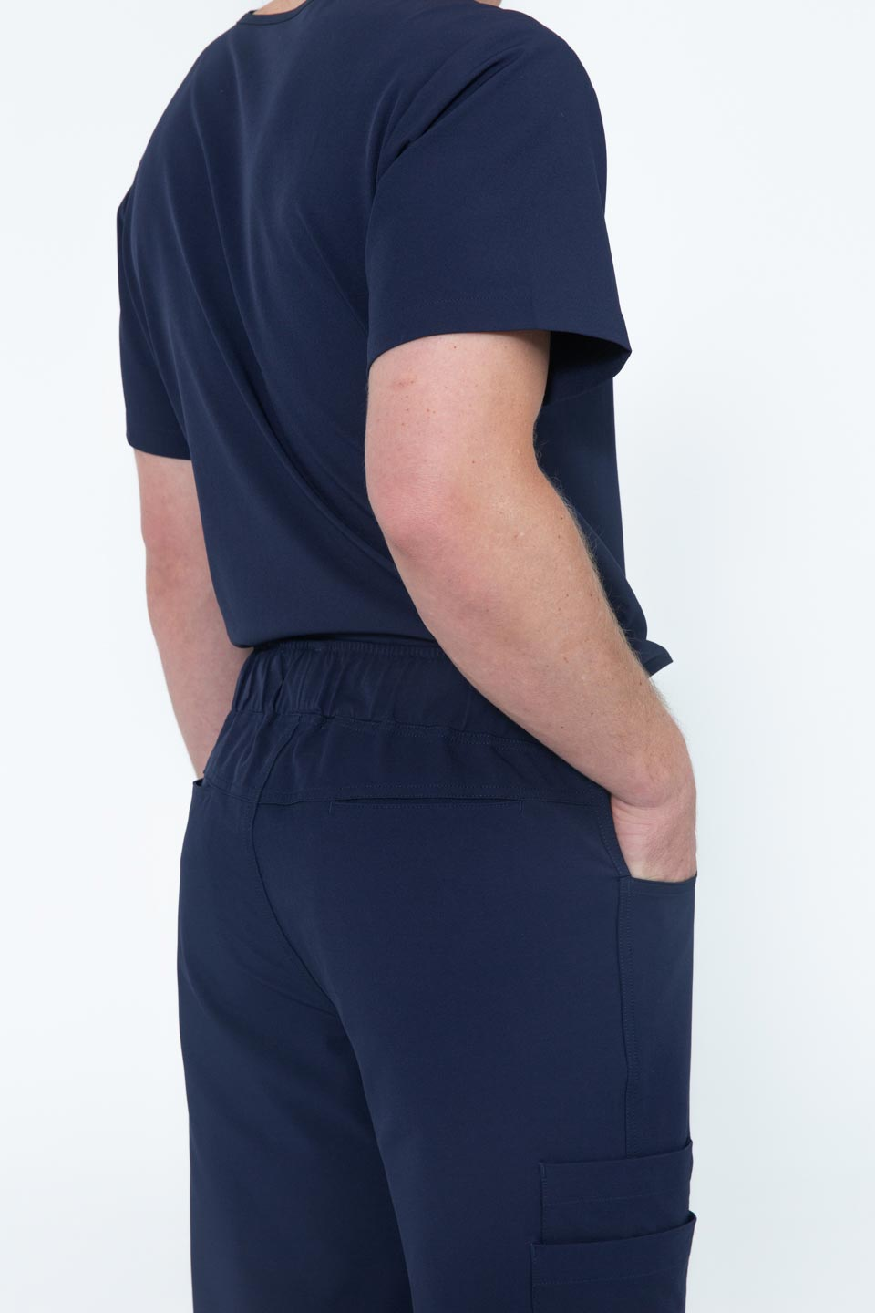 Kalea - Mens Gallant Scrub Pants - Navy