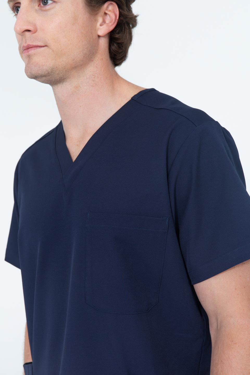 Kalea - Mens Utopia Scrub Top - Navy