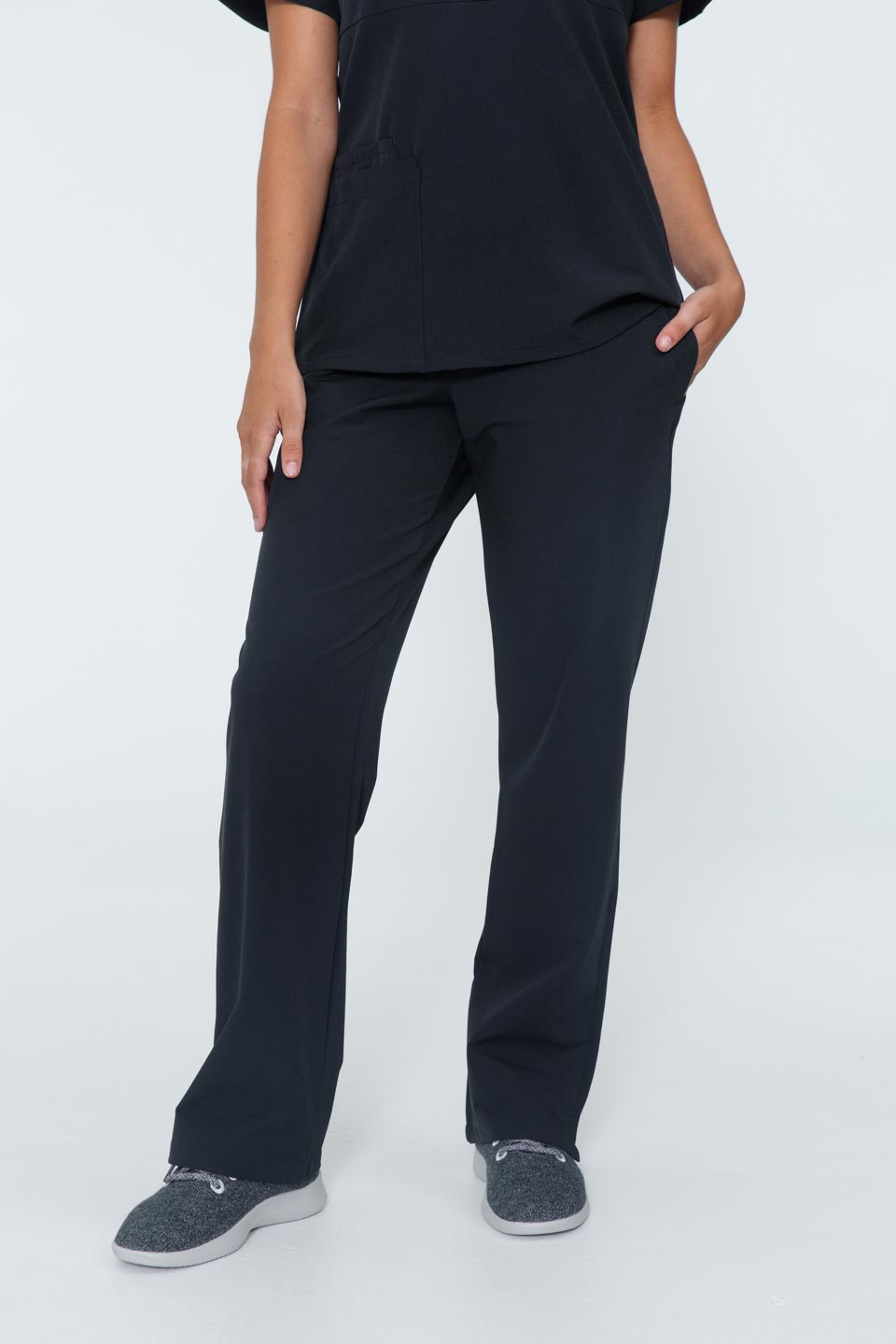 Kalea - Womens Bliss Scrub Pants - Black