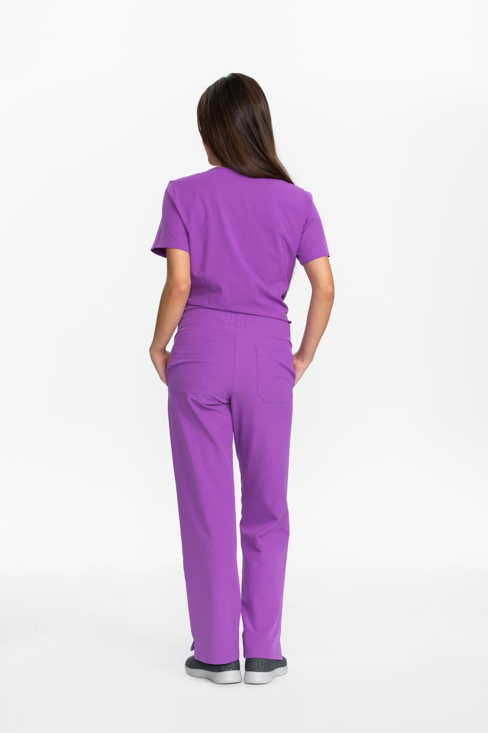 Kalea - Womens Bliss Scrub Pants - Purple