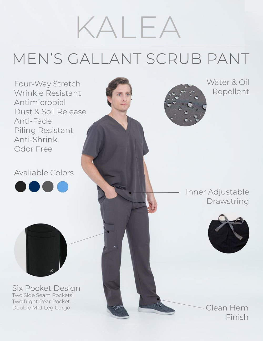Kalea - Mens Sample Sizing And Color Kit