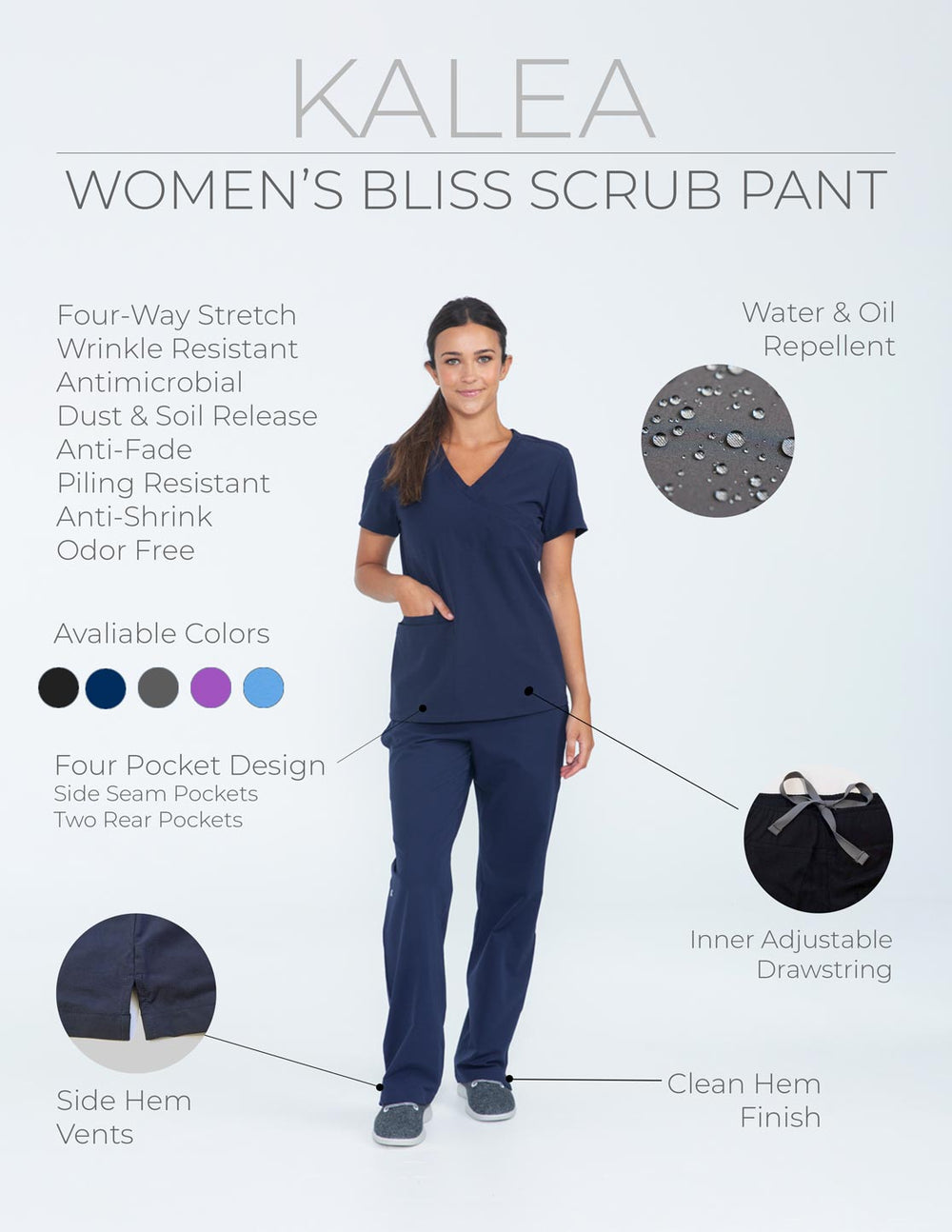 Kalea - Womens Sample Sizing And Color Kit