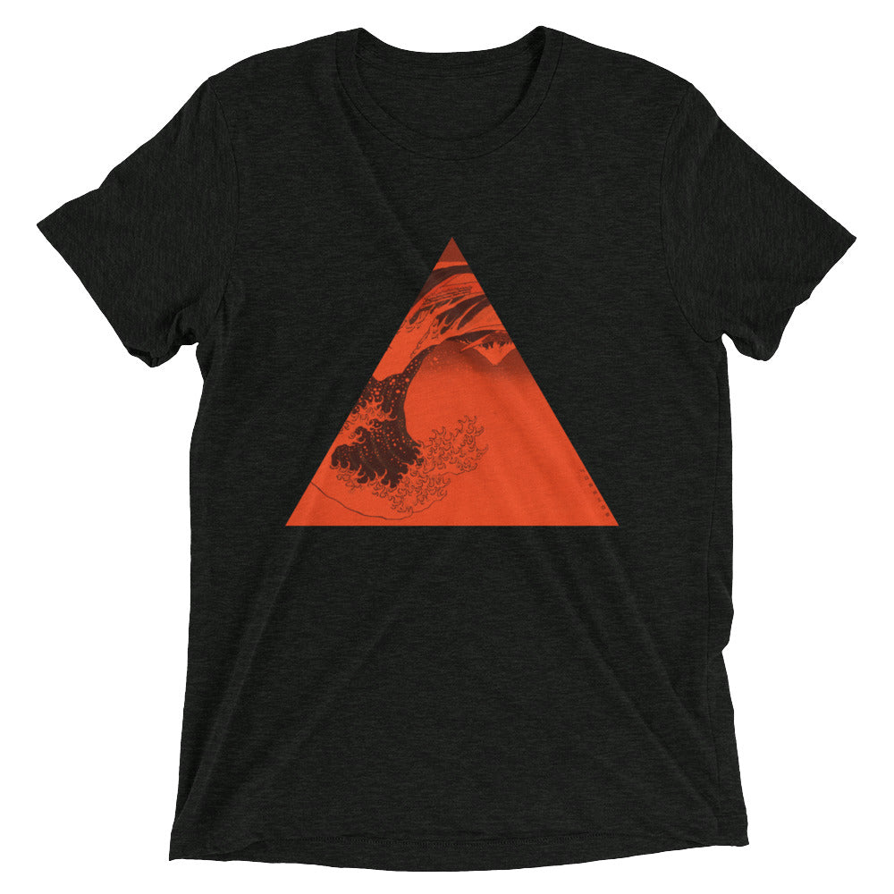 Red Triangle Black