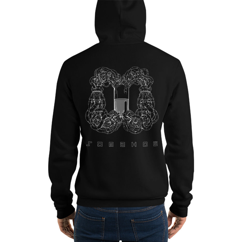 The Wind Tunnel Black Hooded