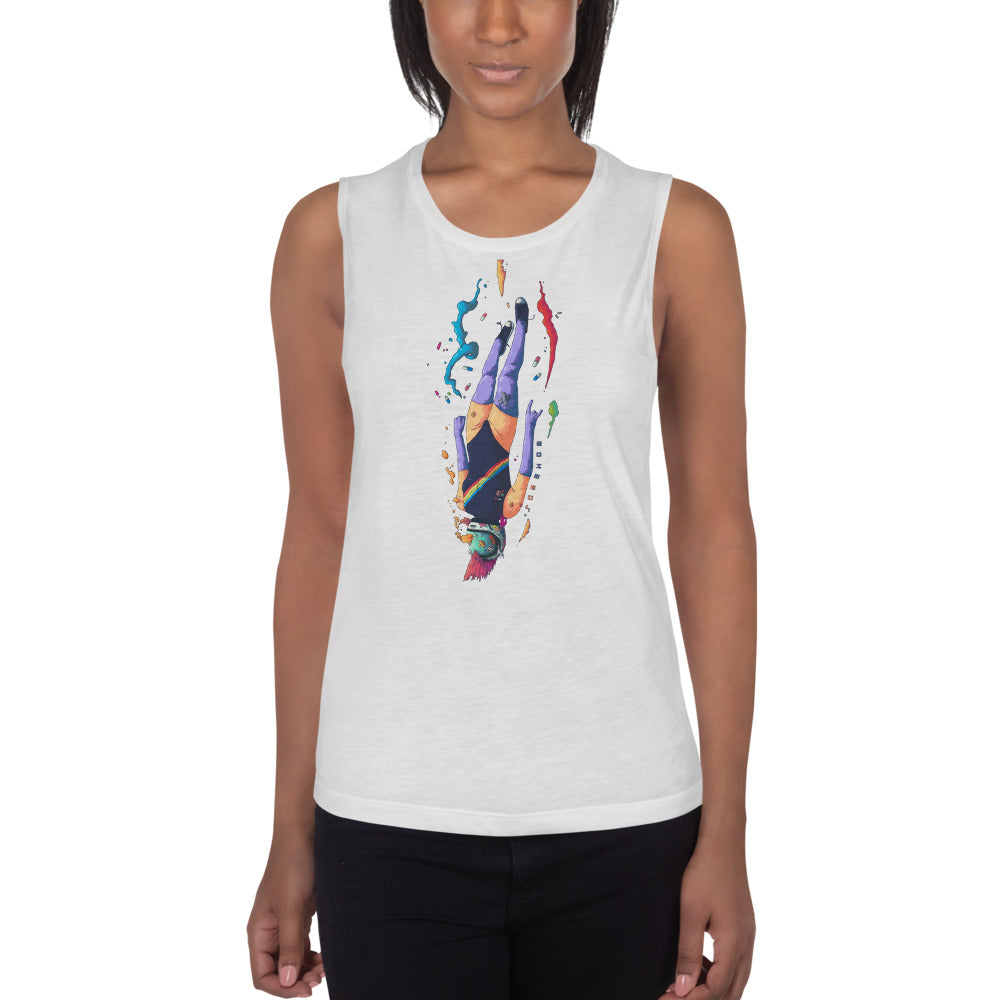 Eniac19 Ladies' Muscle Tank