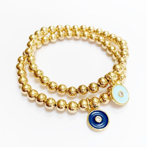 Golden Eye Bracelet {2 colors}