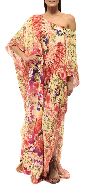 KAFTAN / HAWAIIAN BLISS  One Size Assorted colors available