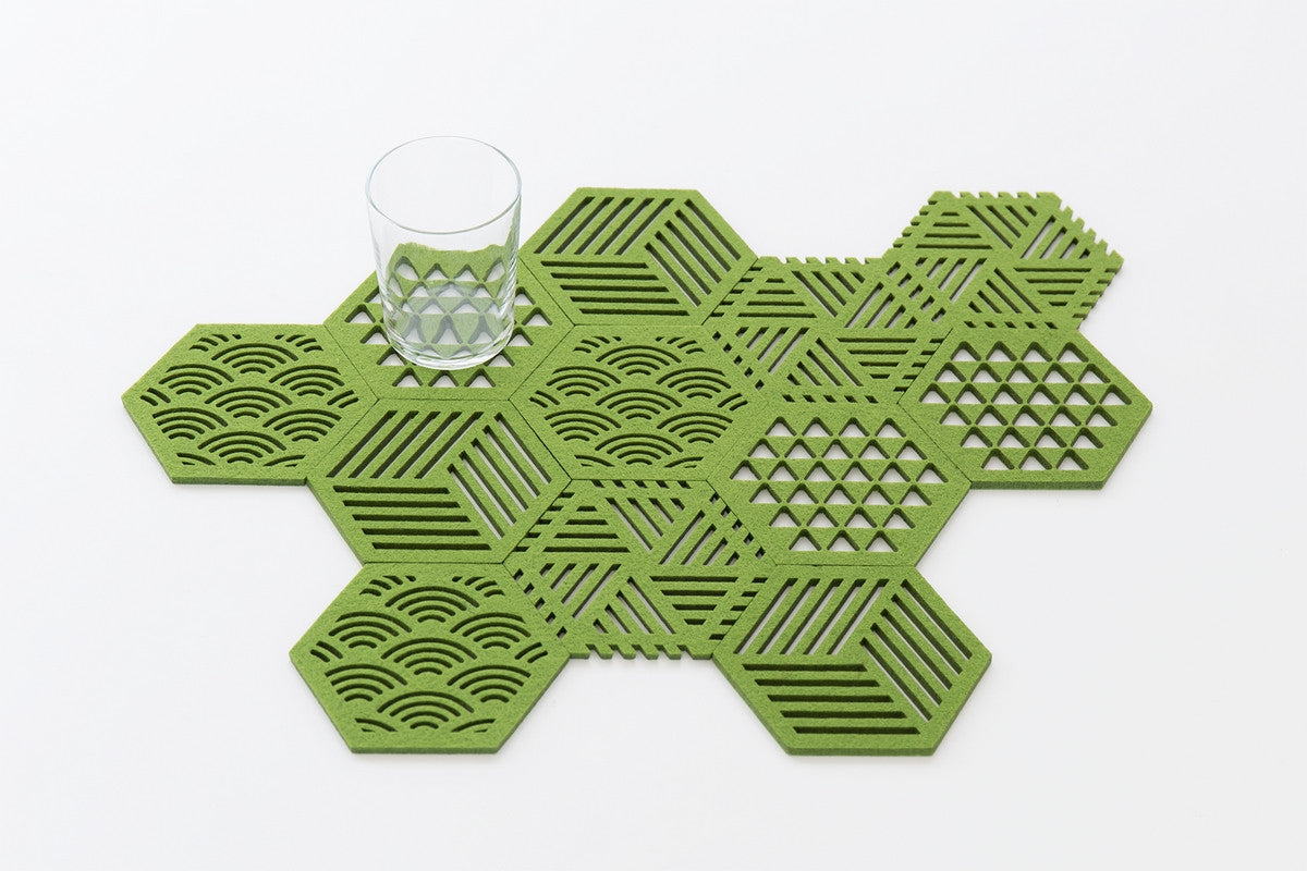 HEXAGON COASTERS WINDMILL