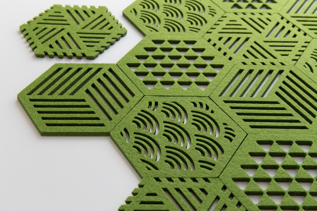 HEXAGON COASTERS CUBE