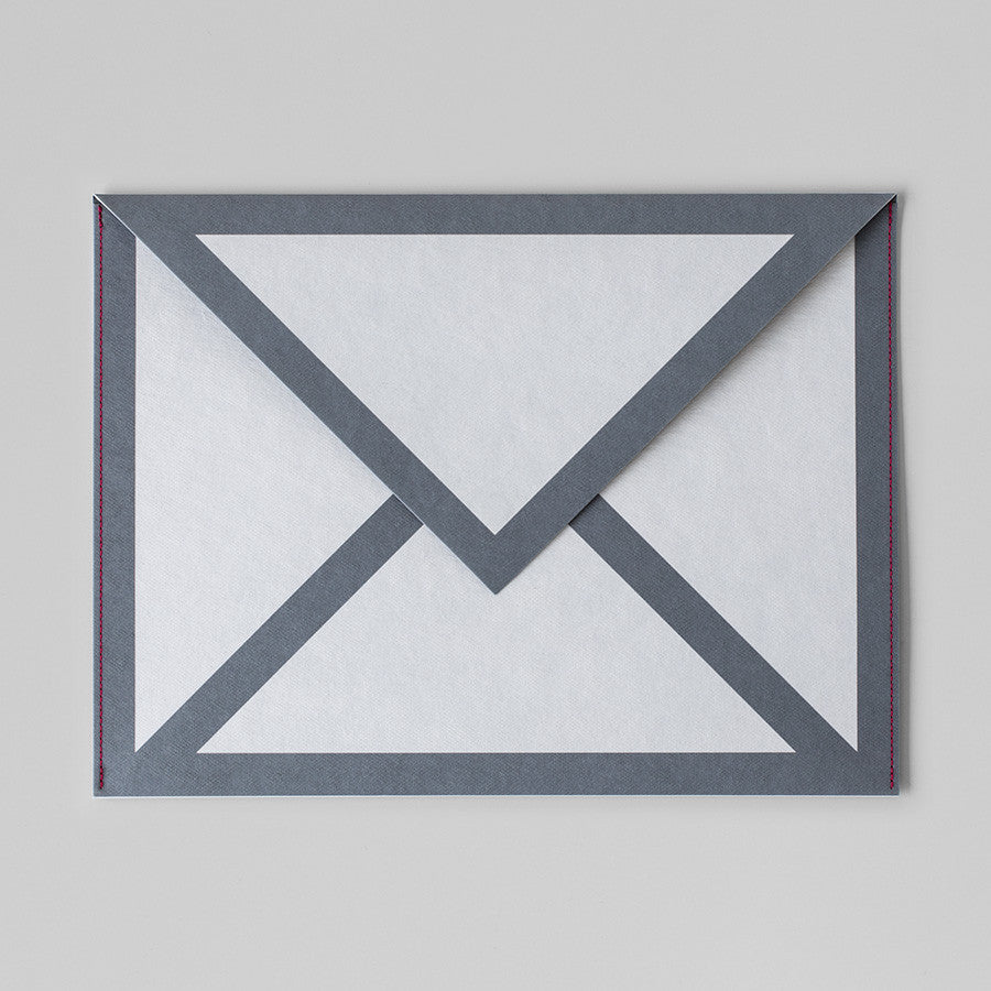 MAIL ICON PAPER SLEEVES BUNDLE (WHITE)