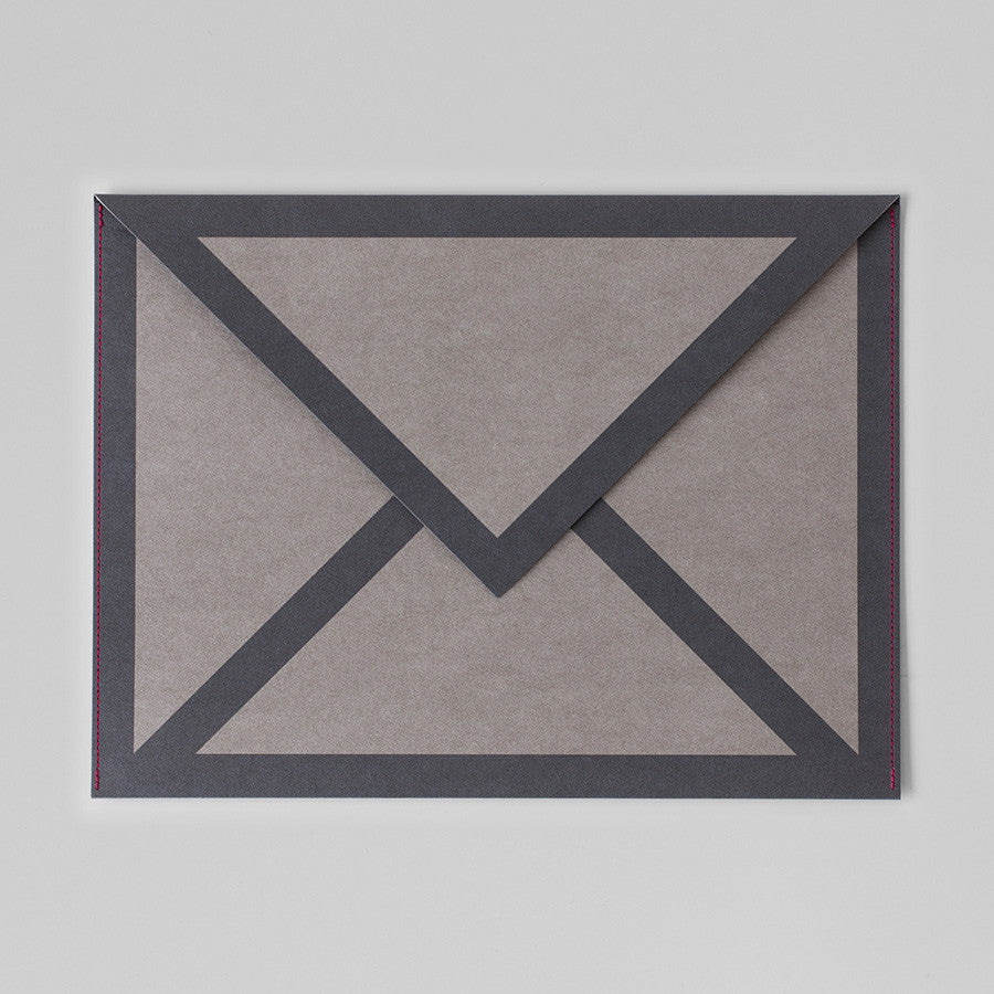 MAIL ICON PAPER SLEEVES BUNDLE (GREY)